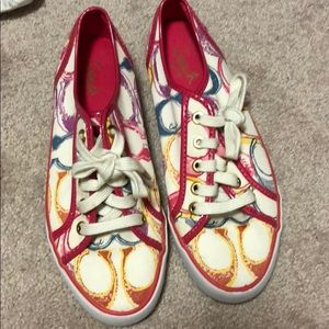 Coach Multicolor tennis shoes